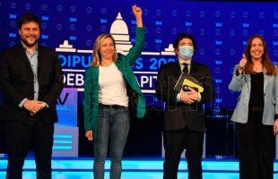 Tenso debate entre los candidatos a diputados de la Ciudad de Buenos Aires - Télam